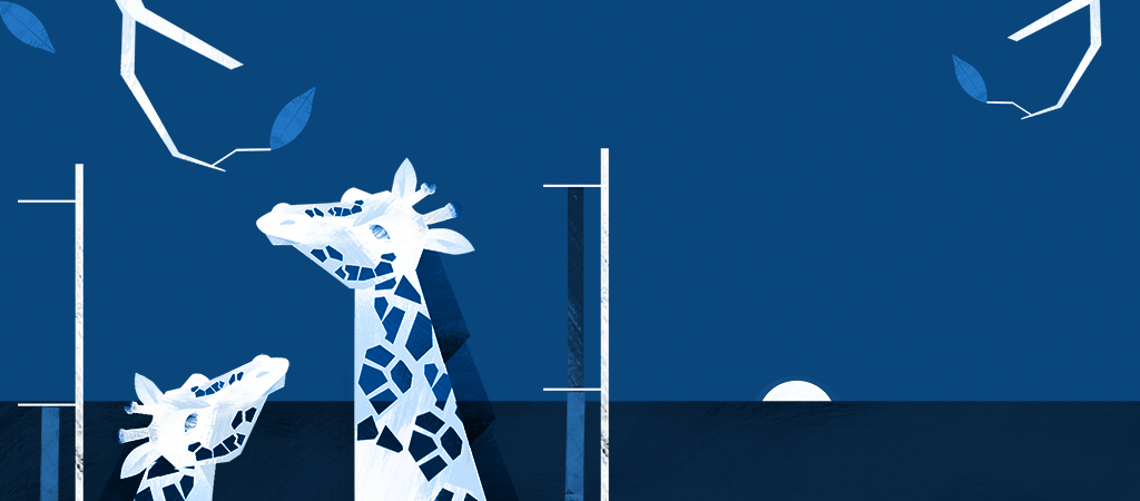 Giraffe illustration 3