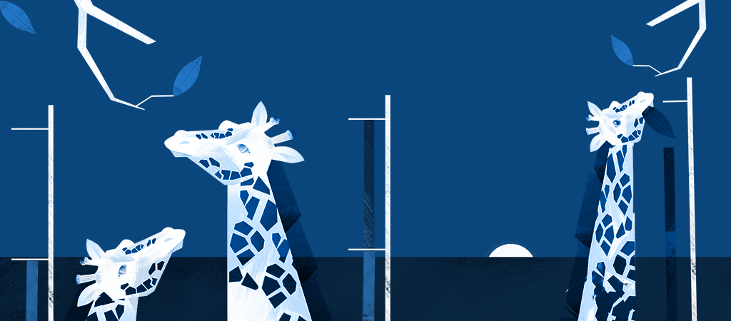Giraffe illustration 4